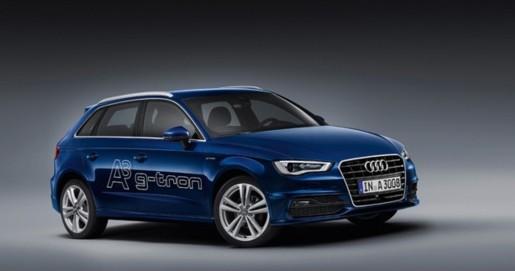 Bild des Audi A3 gtron in blau