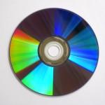 Bild einer CD mit Spektralfarben