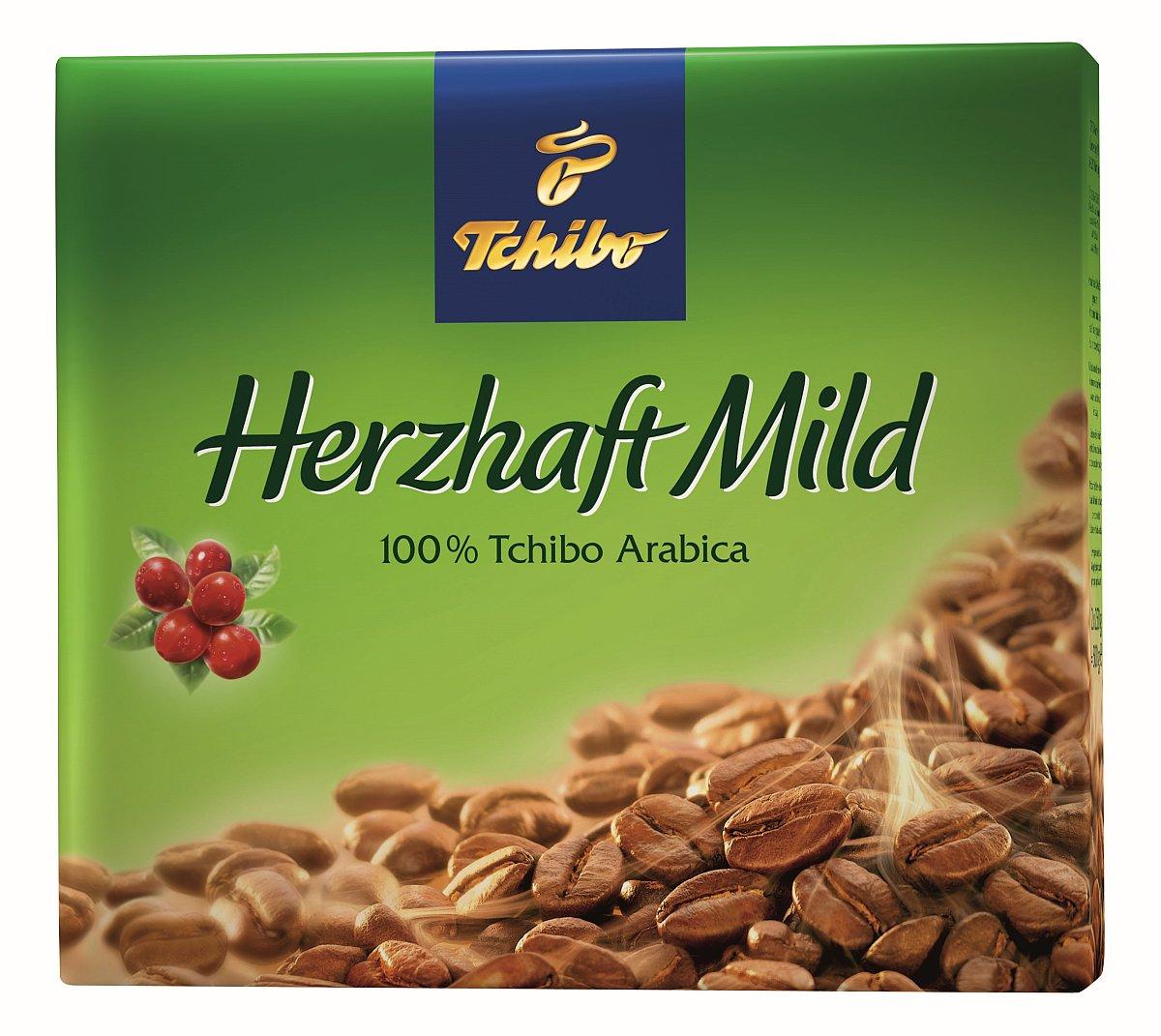 Tchibo Kaffeepackung Herzhaft Mild - ein widersprüchlicher Name
