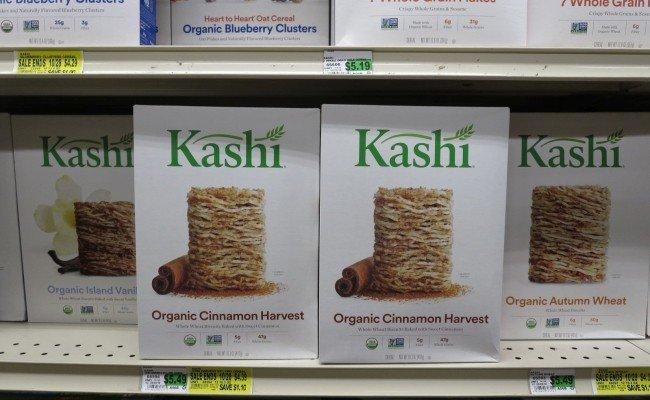 Ein Name mit Yogaanmutung: Kashi Cerealien