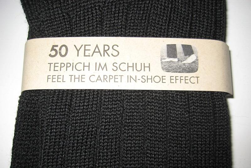 Falke Teppich im Schuh Socken - Banderole