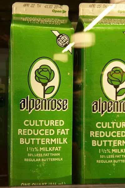 Alpenrose fettreduzierte Buttermilch