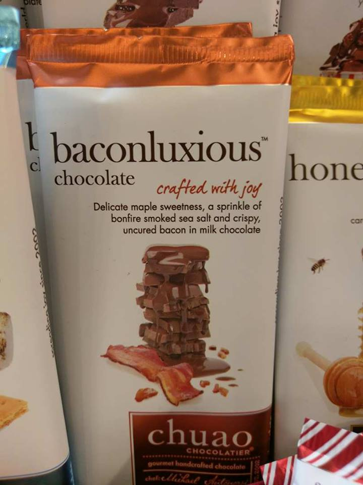Baconluxuous Schokolade mit Schinken