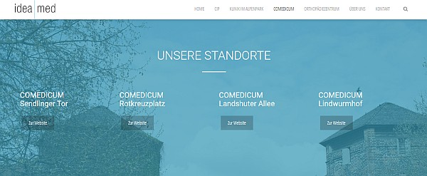 Comedicum München Standorte München