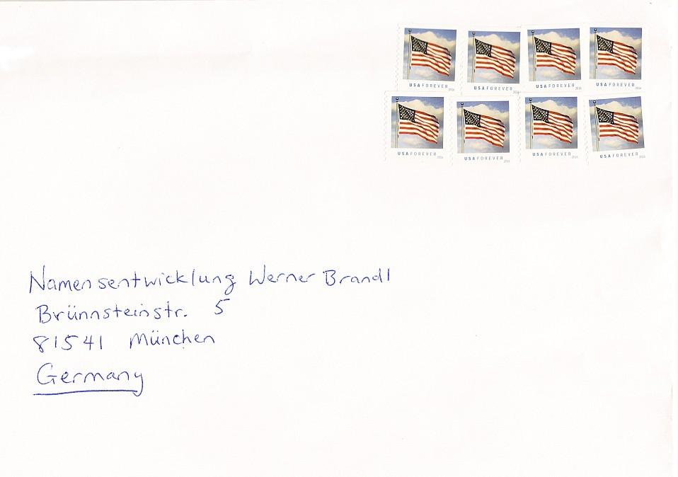 USA Forever Briefmarken