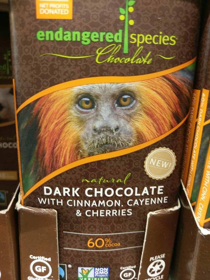Endangered Species Schokolade: Ethikbranding