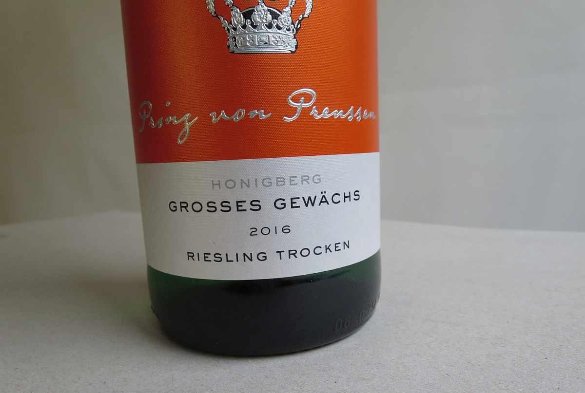 Detail zum Wein Großes Gewächs bei Netto