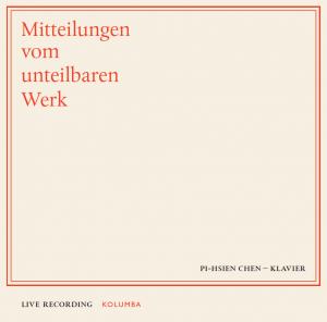 Mitteilungen vom unteilbaren Werk, Cover der CD-Box