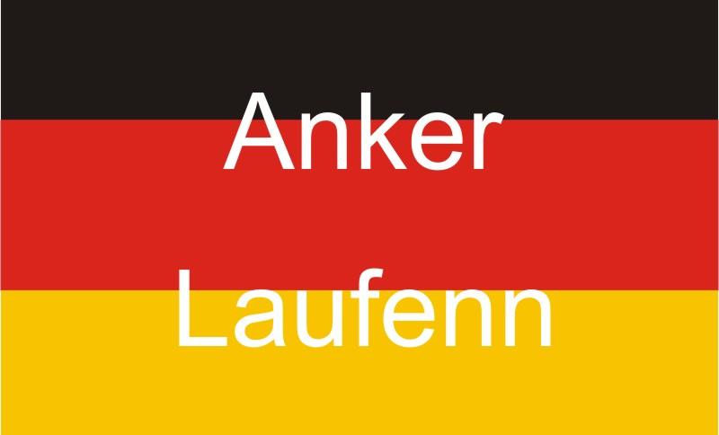Laufenn und Anker, zwei deutsch klingende Markennamen